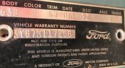 1963 M Code Ford Thunderbird Landau Rare Parts Or Project Matching Title Vin