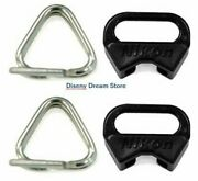 Nikon Camera Triangular Strap Lug 2rings And 2covers For Film Digital From Japan