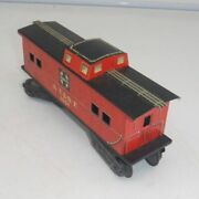 Marx A.t.and S.f 1951 Santa Fe Red Caboose