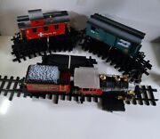 New Bright Great American Express G Scale Battery Operated Train Set 2-6-2 Loco