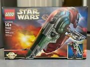 Star Wars Lego Ucs Slave I Collector's Set 75060 New In Box Sealed Discontinued