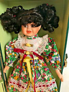 1997 Heritage Mint Lasting Impressions Porcelain Doll Companion Collection Trunk