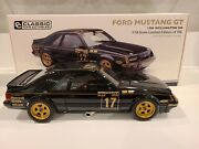 Classic Carlectables 1986 Ford Mustang Gt Wellington 500 Diecast Car 118 🇦🇺
