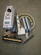 Electrolux Aerus Canister Vacuum Cleaner. Legacy Model Blue. Runs Tip Top.