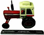 Vintage Ertl Ih Turbo Farmall 1456 Case Tractor With White Cap