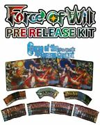 Force Of Will Curse Of The Frozen Casket Prerelease Kit