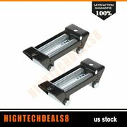 4 Way Roller Cable Guide Roller Fairlead 4000-5000lbs Winch Stainless Steel 2pcs