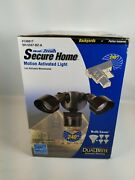 Heath/zenith Motion Activated Light Dualzone 240 Degrees 100ft-30m Auto Dimming
