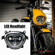Motorcycle Led Drl Headlight Assembly For Suzuki Boulevard M90 Vz1500 M109r 2019