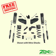 5.5 Front And Rear Suspension Lift Kit For Ram Ram 2500 4wd Gas 2014-2018 Zone