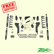 6 Front And Rear Suspension Lift Kit For Dodge Ram 1500 Mega Cab 4wd 2008 Zone