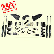 4.5 Front And Rear Suspension Lift Kit For Ram Ram 3500 4wd Diesel 2013-2018 Zone