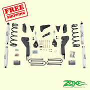 6 Front And Rear Suspension Lift Kit Fits Dodge Ram 1500 Mega Cab 4wd 2008 Zone