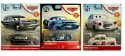 2021 Disney Cars 1/55 Metal Hot Rod Steve Hearsell-nick Shift And Jimmy Lugwrench