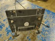 Wheel Horse Black Hood B165 Dash Plate With Cables Used