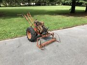 Simplicity Model V Walk Behind Tractor Sickle Bar Mower Briggs And Stratton 14