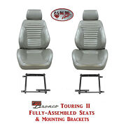 Standard Touring Ii Seats And Brackets For 1966 Ford Broncoand039s Any Color