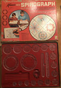 Vintage Kenner Spirograph Set 401 From 1967 Missing Ball Point Pens