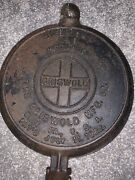 1908 Griswold American No. 8 Cast Iron Waffle Maker 885a 886e Only No Base