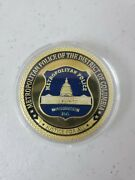 Metropolitan Police Of The District Of Columbia Justice For All Challenge Coin