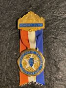 Democratic National Convention Honored Guest Medal Chicago 1968