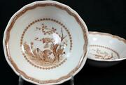 Furnivals Quail Brown 2 Coupe Cereal Bowls Great Condition