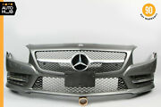 13-16 Mercedes R231 Sl400 Sl550 Amg Front Bumper Cover W/grill Grille Sport Oem