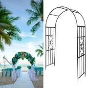 Wedding Arch Garden Arch Wrought Iron Plant Climbing Frame Rack For Roses Vines