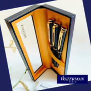 Rare Scrapped Products Waterman Fountain Pen Ballpoint Mechanical Pencil 3-piece