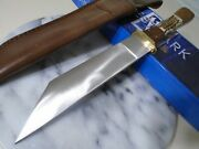 Westmark Seax Bowie Hunter Fixed Blade Knife Stag Rosewood 5mm Full Tang 13.50