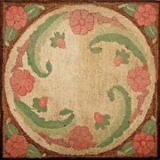 Antique American Hooked Rug 2and0398 X 2and0398