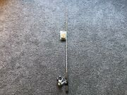 """Northland Fire Tip 2 Pc 48"""" Medium Ice Fishing Rod And Reel Combo -brand New"""