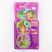 Polly Pocket 1996 Disney Donald Duck With Chip N Dale New And Sealed