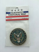 Operation Enduring Freedom Northwest Territorial Mint Coin 1 3/4
