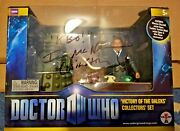 Doctor Who Victory Of The Daleks Action Figure Signed Autograph Ian Mcniece Bnib