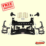 Suspension 4 Front And 2.5 Rear Lift Kit For 2010-2014 Ford F-150 Xl 4wd Rancho