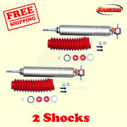 Rs9000xl Front Lift Shocks For Jeep Cherokee Xj 4wd 84- 2 Rancho