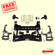 Suspension 4 Front And 2.5 Rear Lift Kit For 2010-2014 Ford F-150 Stx 4wd Rancho