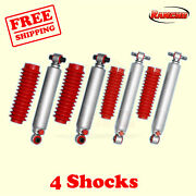 Rs9000xl Frontandrear 0 Lift Shocks For Chevy Blazer 4wd 92-94 Kit 4 Rancho