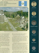 Coins From Around The World Guatemala 6 Coin Set 1999-2001 Bu Unc 1 Quetzal 2001