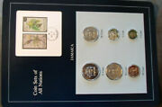Coin Sets Of All Nations Jamaica W/card 1979 And 1984 All Fm U Low Mintage