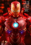 Hot Toys Mms568 - Iron Man 2 Mark Iv Holographic Exclusive Action Figure - New
