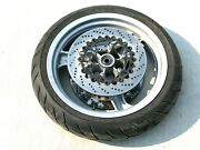 Bmw R1100rt Cast Silver Front Wheel Rim And Tire R1100rs R850r R1100r 36312311220
