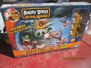 New In Sealed Box Angry Birds Star Wars Jenga Death Star Game Hasbro