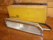 1961 Gm Nos Oldsmobile Starfire Front Parking Light And Chrome Housing Convertib