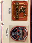 Cowboys Willabee And Ward All 8 Super Bowls Full 9x12 Awesome Embroidered Patch