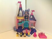 Fisher Price Little People Disney Songs Palace Princess Castle 4 Figures