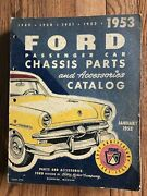 1949-1953 Ford Passenger Car Chassis Parts And Accessories Catalog