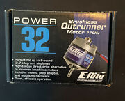Eflite Power 32 Brushless Outrunner Electric Rc Airplane Motor 770kv Eflm4032a