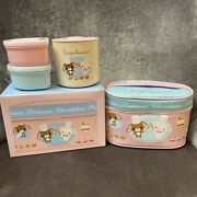 Sugarbunnies Vintage Lunch Box With Thermos And Food Containers. 2007